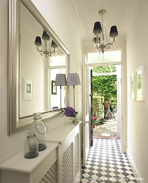 Using mirrors with interior design